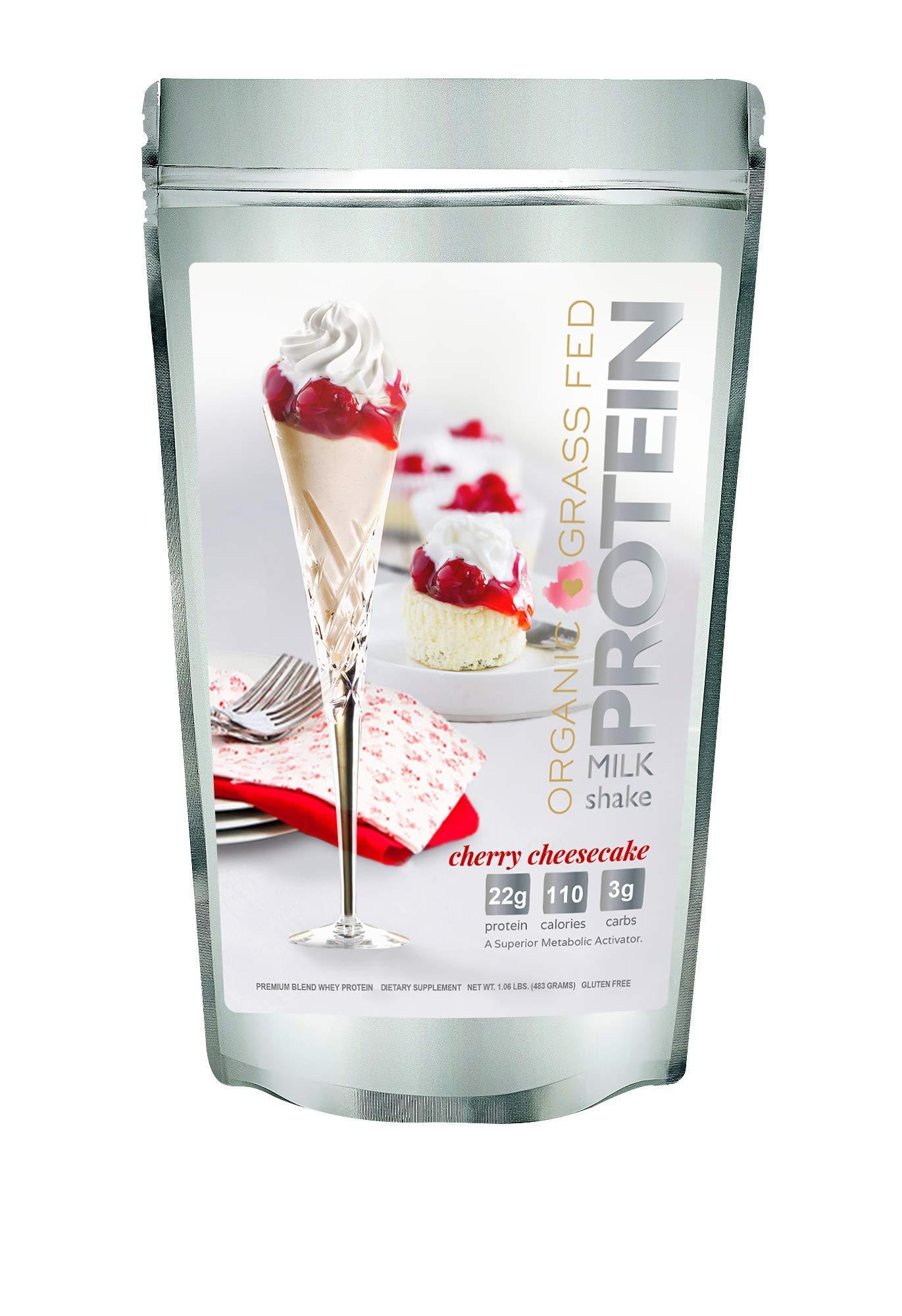 Protein Milkshake Whey Master Parent (15 Servings, Cherry Cheesecake) by Protein Milkshake