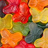 Gummy Mini Butterflies Assortment 1LB Bag