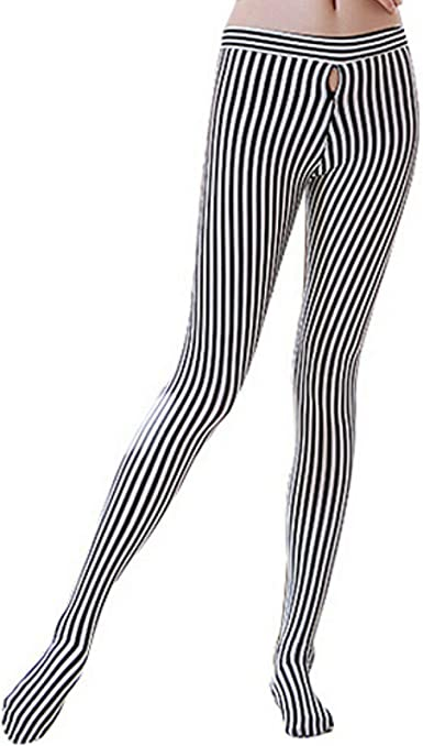 Seamless Women/'s Closed Crotch Pantyhose Ultra-thin Tights See-through Pants NEW