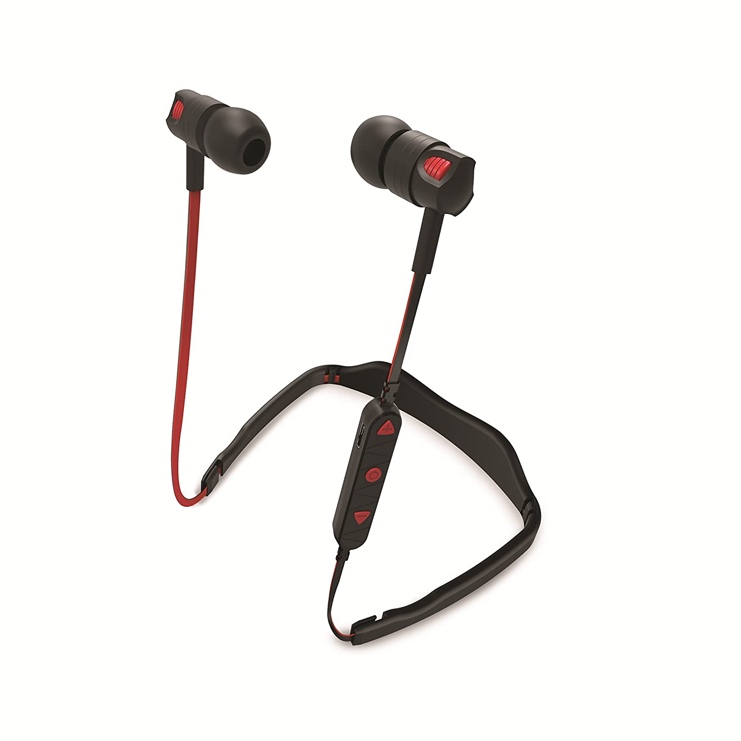 1efeff6f64b Overtime OTBTPRM-RD Wireless Bluetooth V4.2 Sports Earbuds Vent, Red:  Headsets: Amazon.com.au