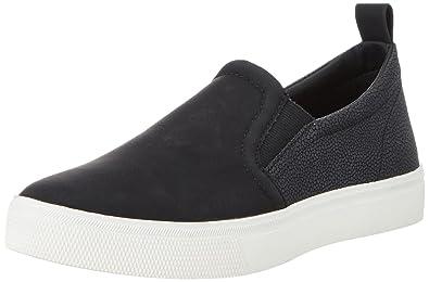 ESPRIT Yendis Slip on, Damen Sneakers, Schwarz (001 Black), 40 EU
