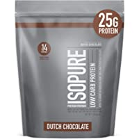 ISOPURE Low Carb Protein - Dutch Chocolate Net Wt 1 LB (454g)