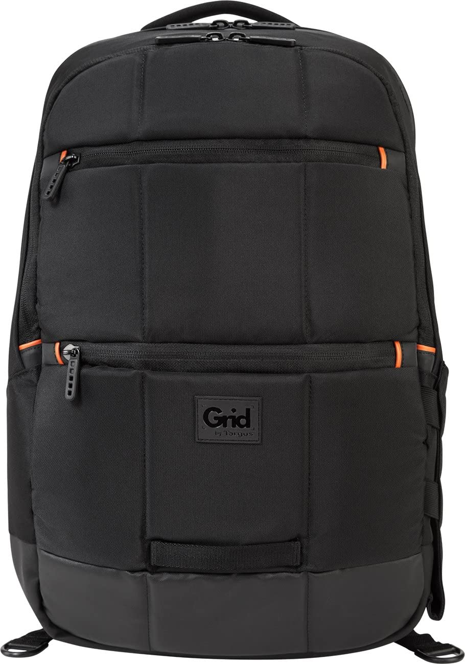 Targus GRID Advanced Backpack for 16-Inch Laptops, 32 Liter Capacity, Black TSB849