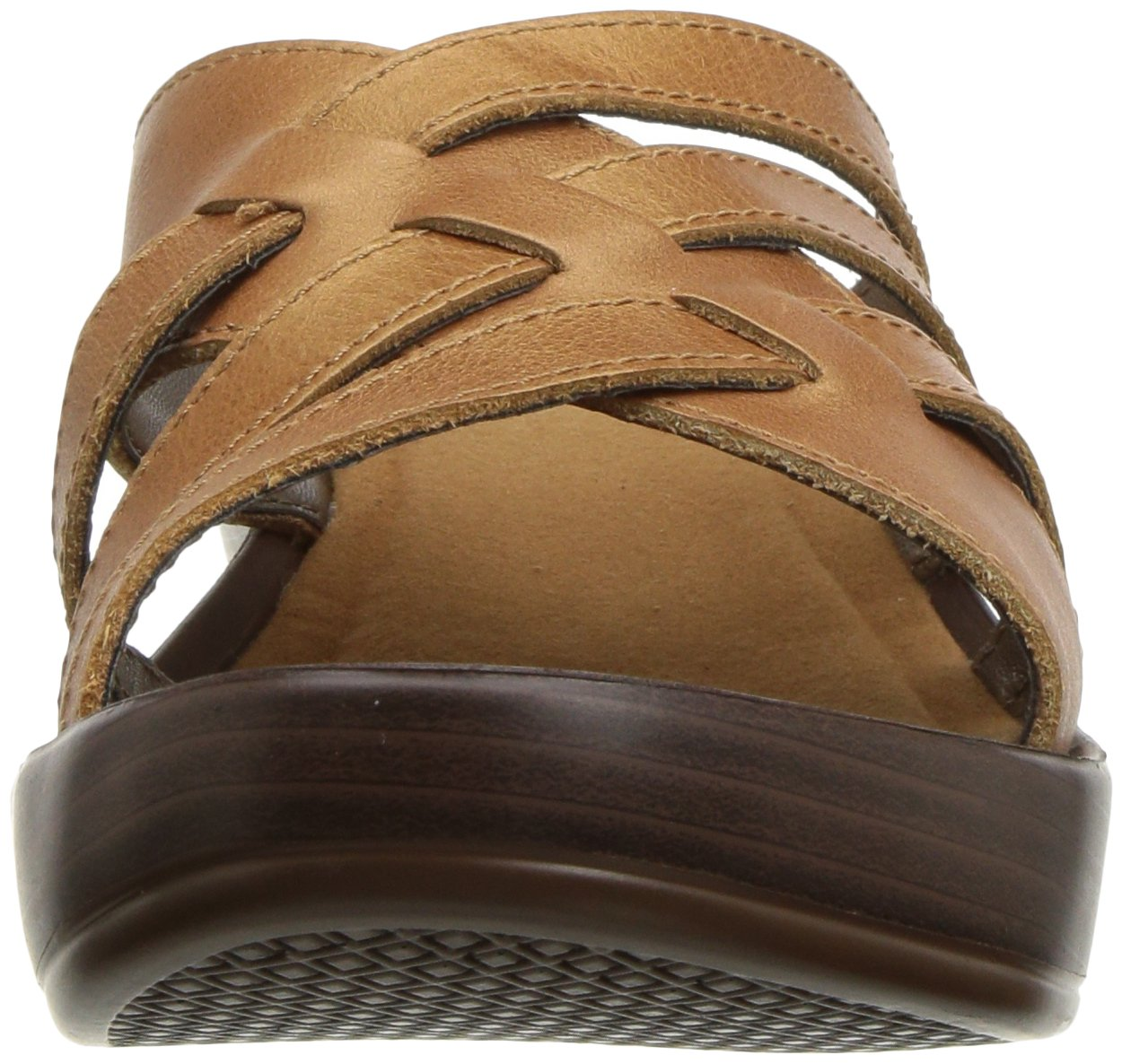 Eastland Women's Poppy Sandal B076QN9TGV 7 W US|Tan