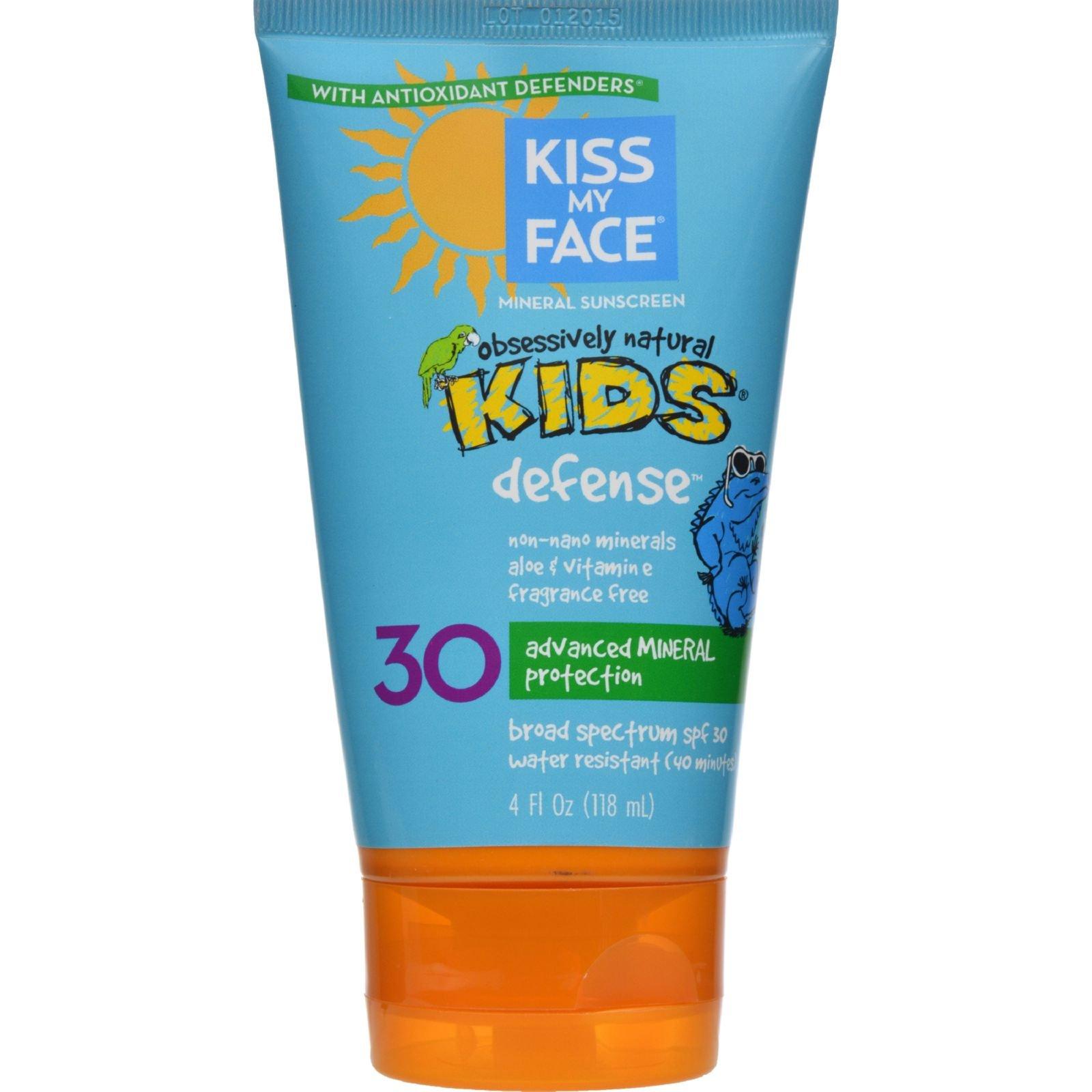 Kiss My Face - Kiss My Face Kids Sunblock Natural Mineral Lotion SPF 30-4 fl oz