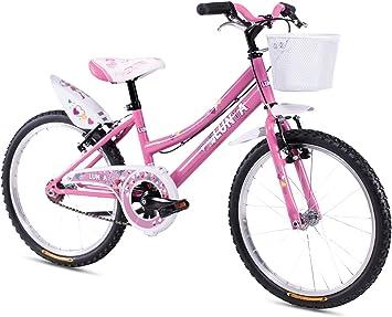 Magnum - Bicicleta de montaña, de 20 pulgadas, para niña, ROSA, 20