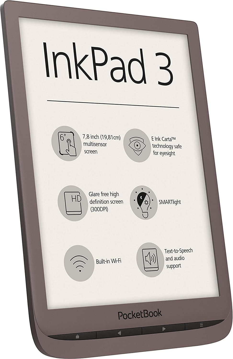 POCKETBOOK e-Book Reader 'InkPad 3'