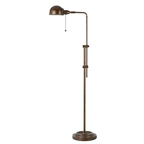 58 inch rustic adjustable pharmacy floor lamp with pull chain switch 58 inch rustic adjustable pharmacy floor lamp with pull chain switch for reading corner aloadofball Gallery