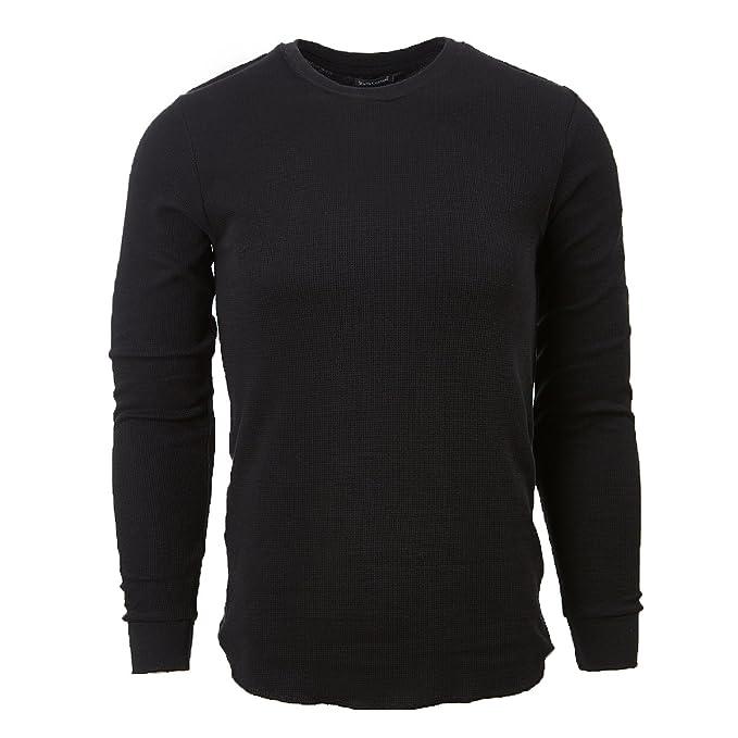 Rich Cotton Camisetas Térmica Hombre Invierno Leve Manga Larga Cuello Redondo Ropa Interior: Amazon.es: Ropa y accesorios