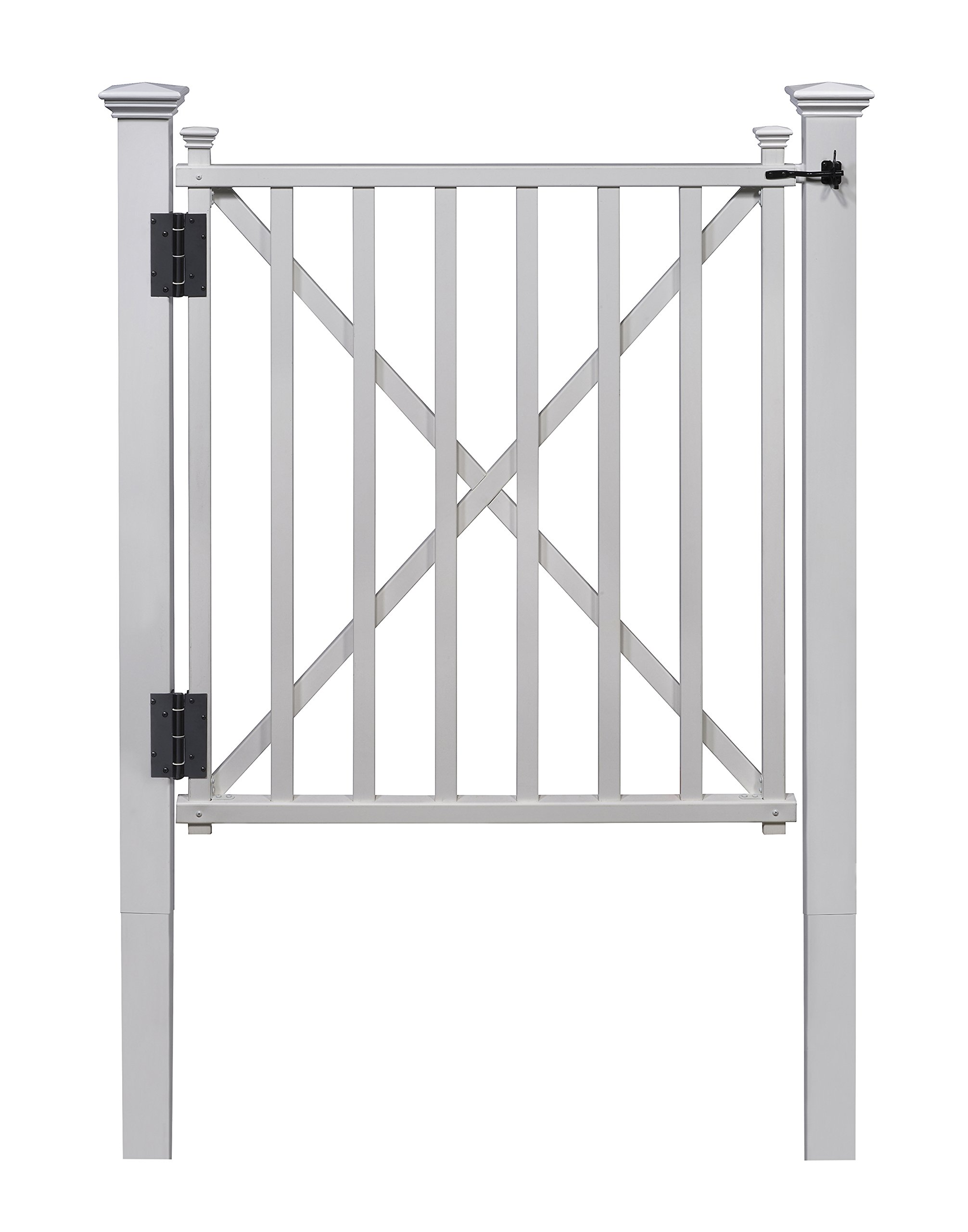 Zippity Outdoor Products ZP19021 Birkdale Vinyl Gate by Zippity Outdoor Products