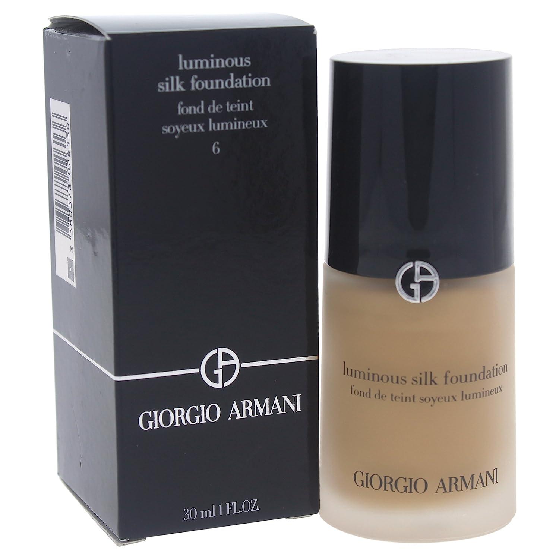 Giorgio Armani # 6 Golden Beige Luminous Silk Foundation, 1.0 Ounce