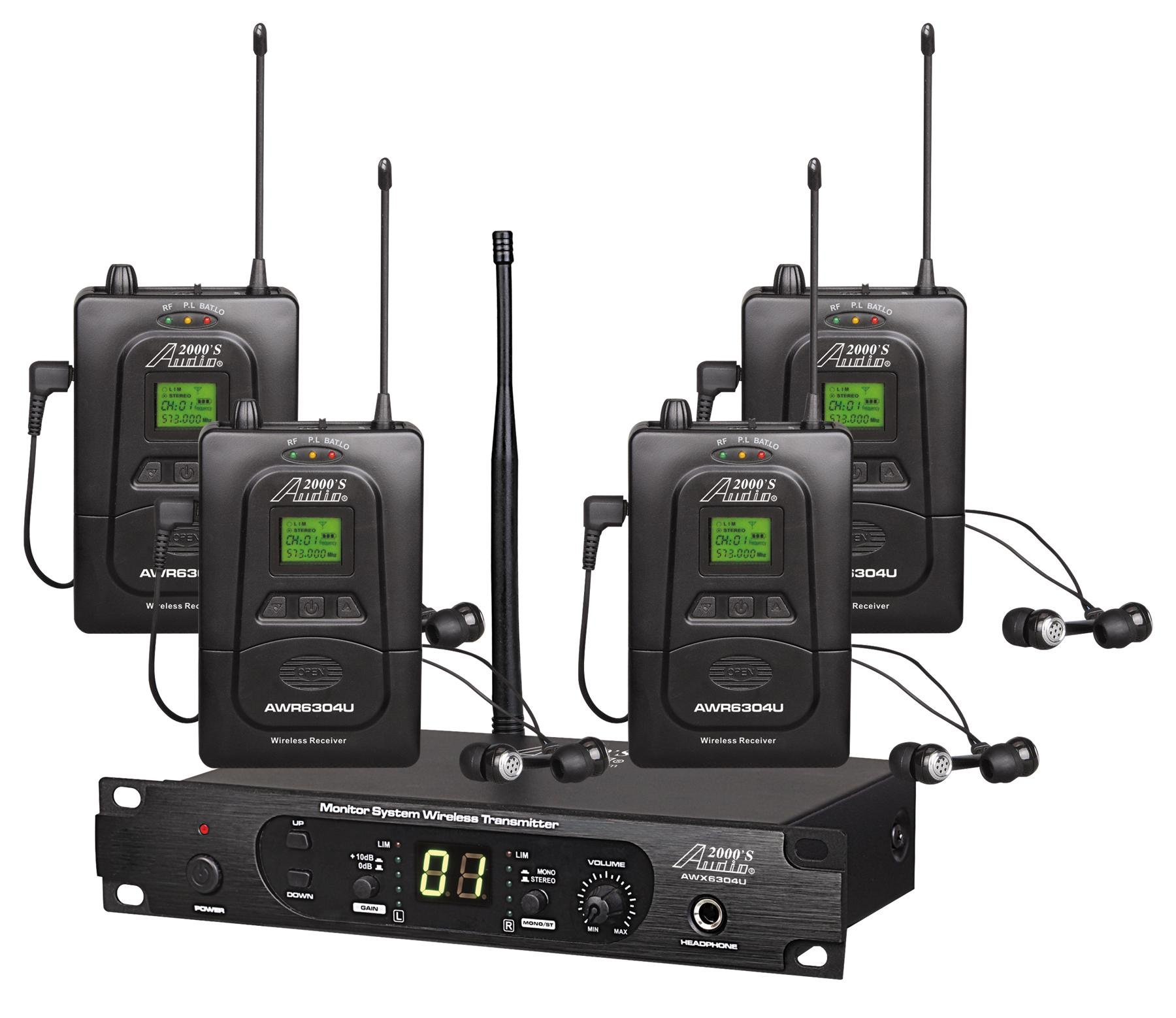 Audio2000'S In-Ear Audio Monitor System AWM6306U by Audio 2000S (Image #1)
