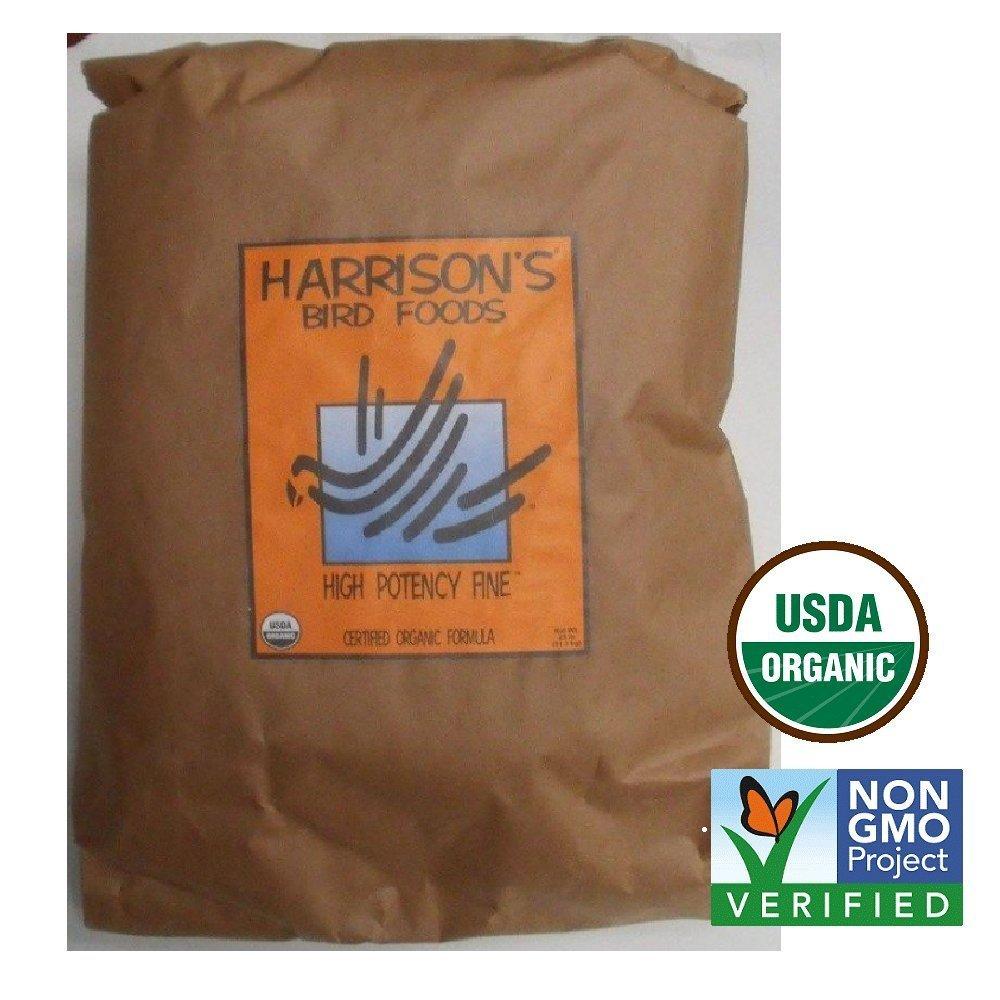 Harrison's Bird Foods High Potency Fine 25lb by Harrison's Bird Foods