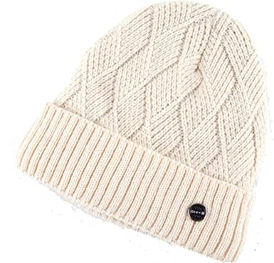 Gorro Winter Hats Men Knitting Wool Beanie Women Casual Cap Mens Beanies Plus Velvet Bone Skullies