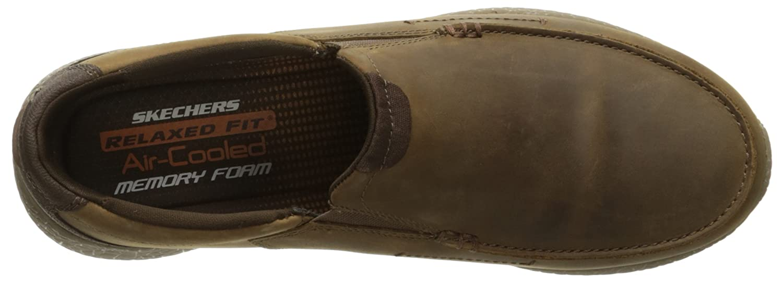 c2063fbdb3c8 Skechers Men s Burst Valid Slip-On Loafer  Amazon.co.uk  Shoes   Bags