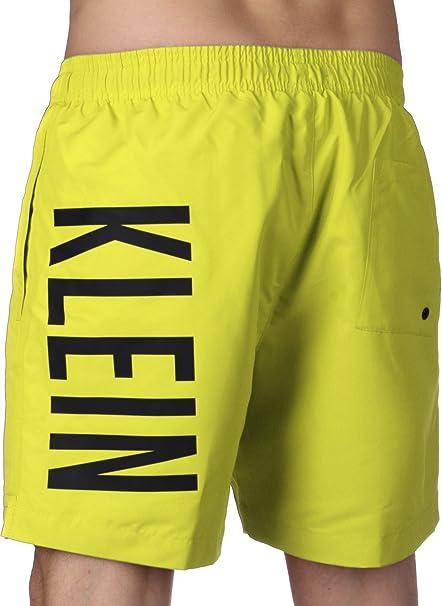 1de2a90902 Calvin Klein Boxer Trunk sea Man Swimwear CK Item KM0KM00150 Medium  Drawstring