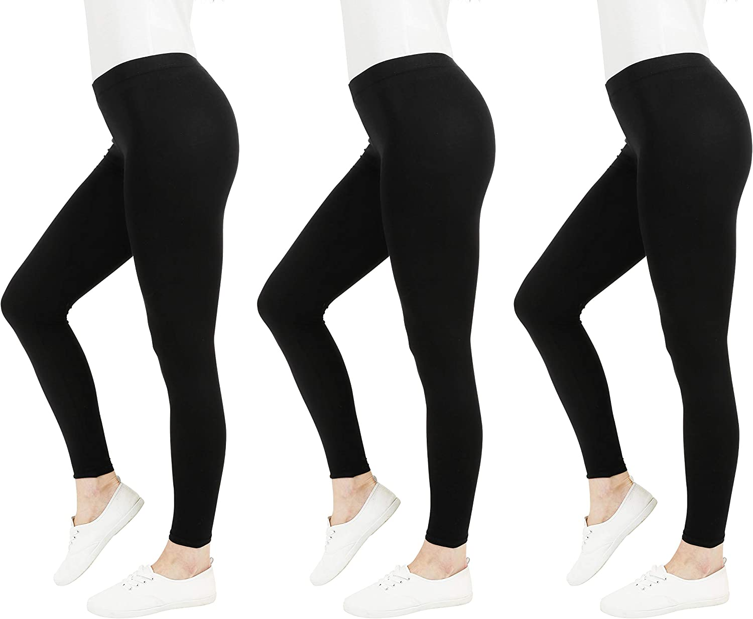 FM London Casual Leggings para Mujer