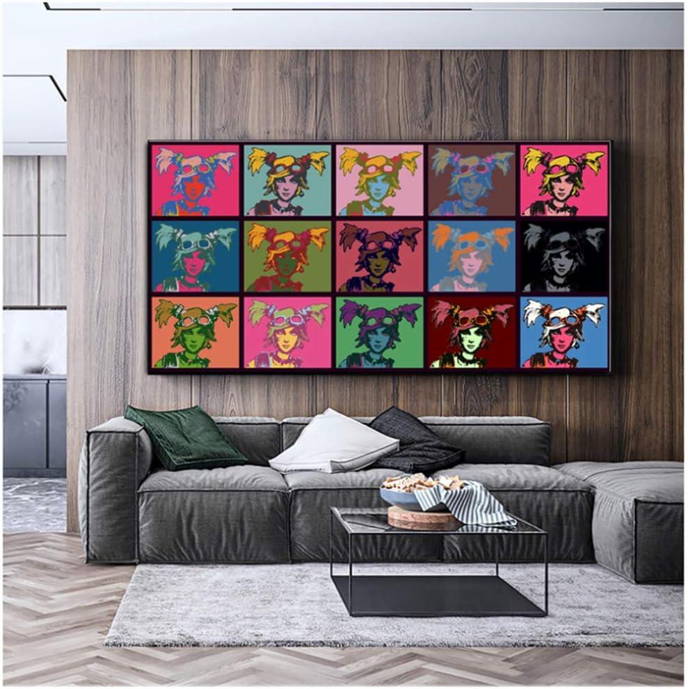 Borderlands 2 gaige Andy Warhol Carteles e impresiones Pintura Pop Art Lienzo Pintura Cuadros de pared para sala de estar -60x120cm Sin marco