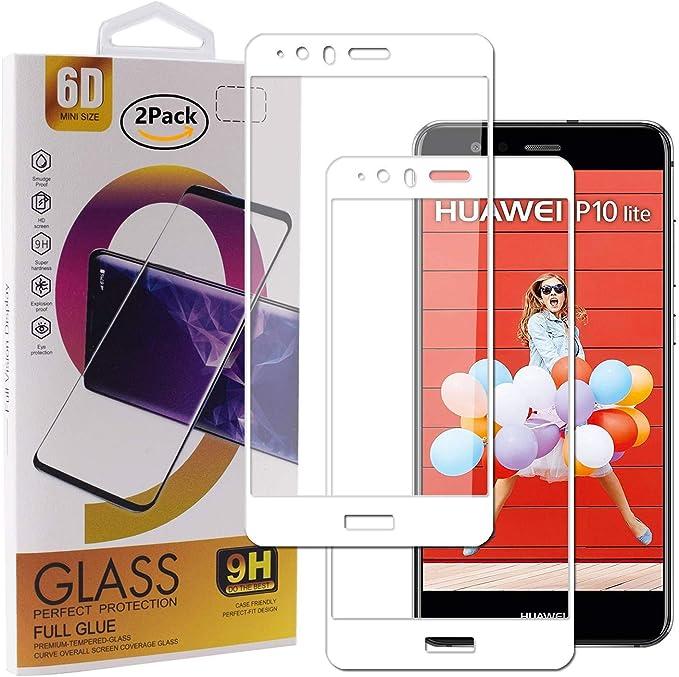Guran [2 Paquete Protector de Pantalla para Huawei P10 Lite ...