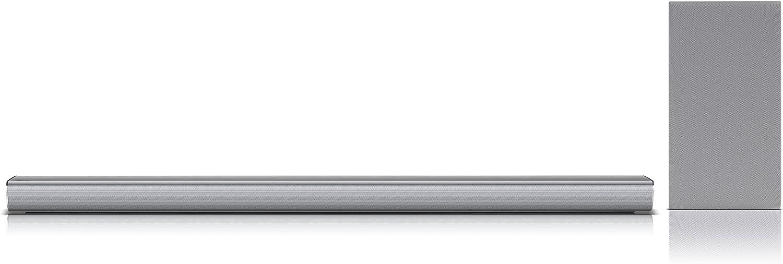 LG SJ6 Inalámbrico y alámbrico 2.1channels 320W Plata Altavoz ...