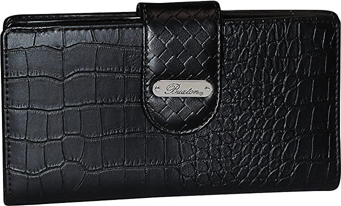 Buxton Croco Super Wallet