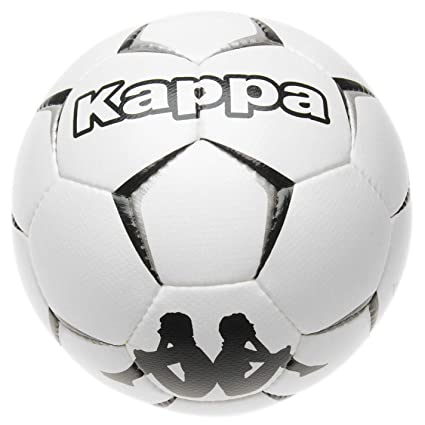 e564f62be1 Amazon.com : Kappa Game Football White Soccer Ball Size 5 : Sports ...