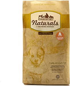 Country Vet Naturals Probiotic Dry Dog Food for Growing Puppies 16 lb