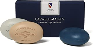 product image for Caswell-Massey Bar Soap Triple Milled Luxury Body Soap Bars (Classics)