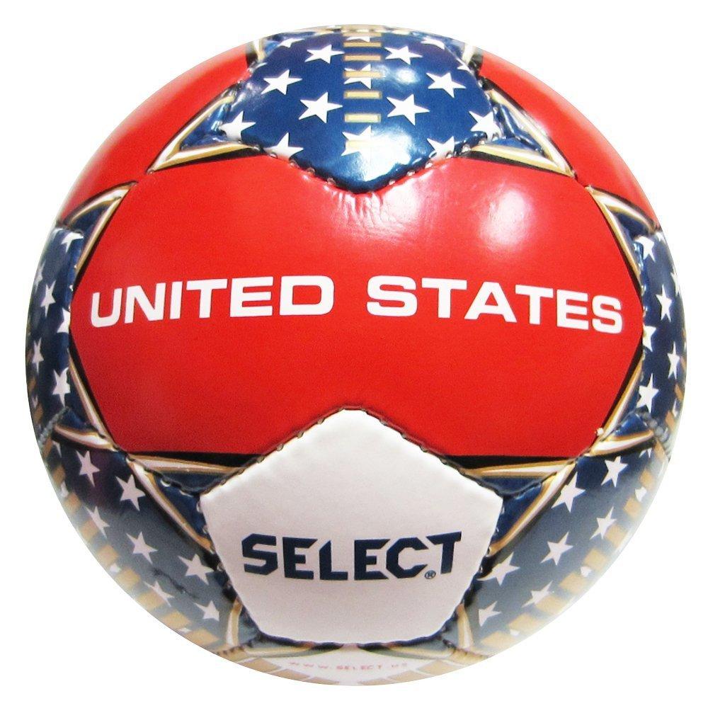 Select United States Soccer Ball/サッカーボール アメリカ 5号球 B00NAIWULQ4