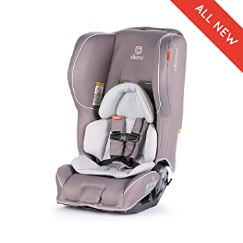 Diono Rainier 2AX Convertible Car Seat For Children From Birth To 65 Pounds Oyster