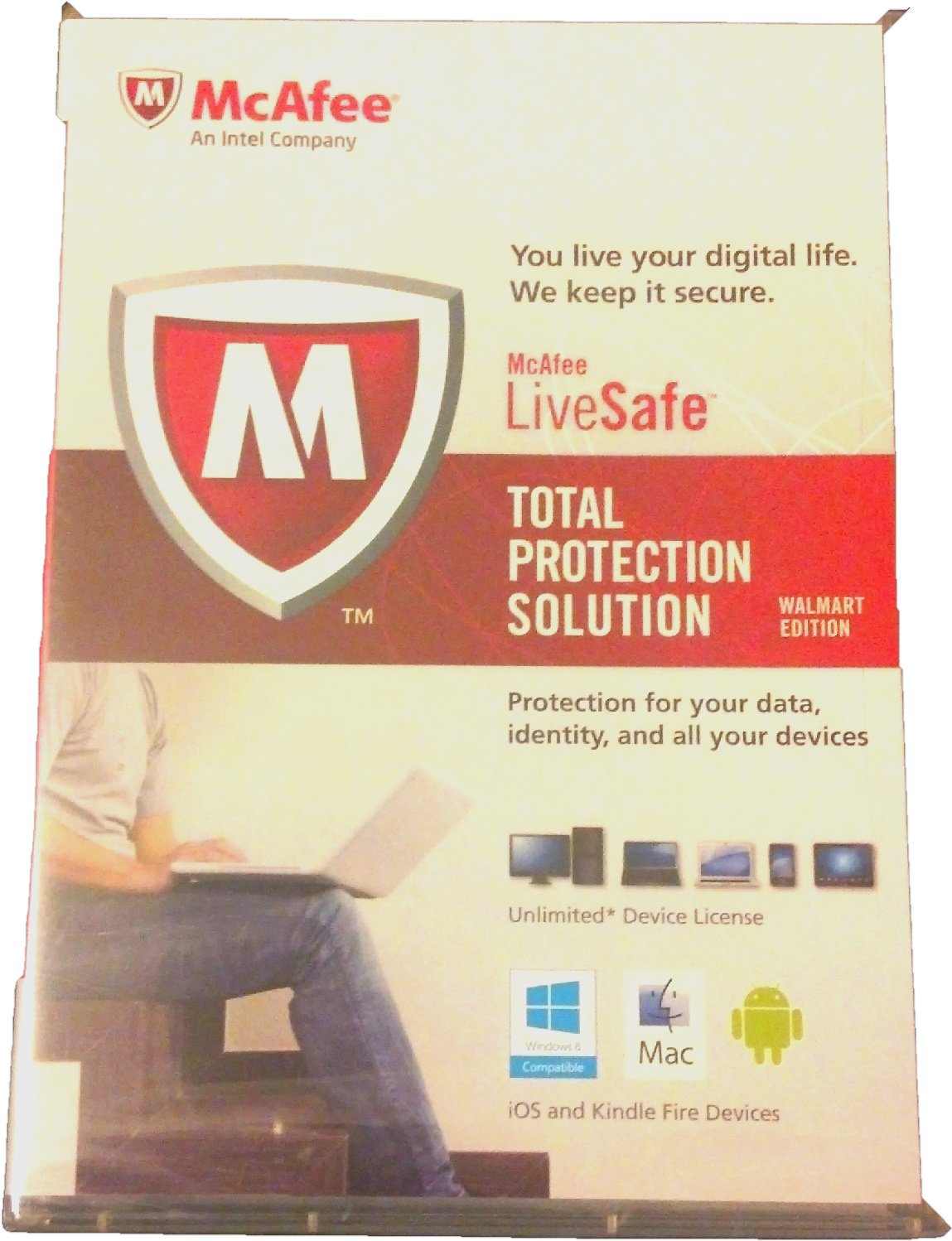 McAfee LiveSafe - Total Protection Solution (Unlimited* Device License)