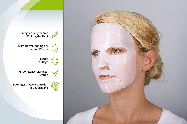 Mascarilla facial natural Epi Nouvelle, juego de 4 unidades, máscara facial de efecto inmediato y calmante para la piel, exantemas, quemaduras solares y tratamientos dermatológicos: Amazon.es: Belleza