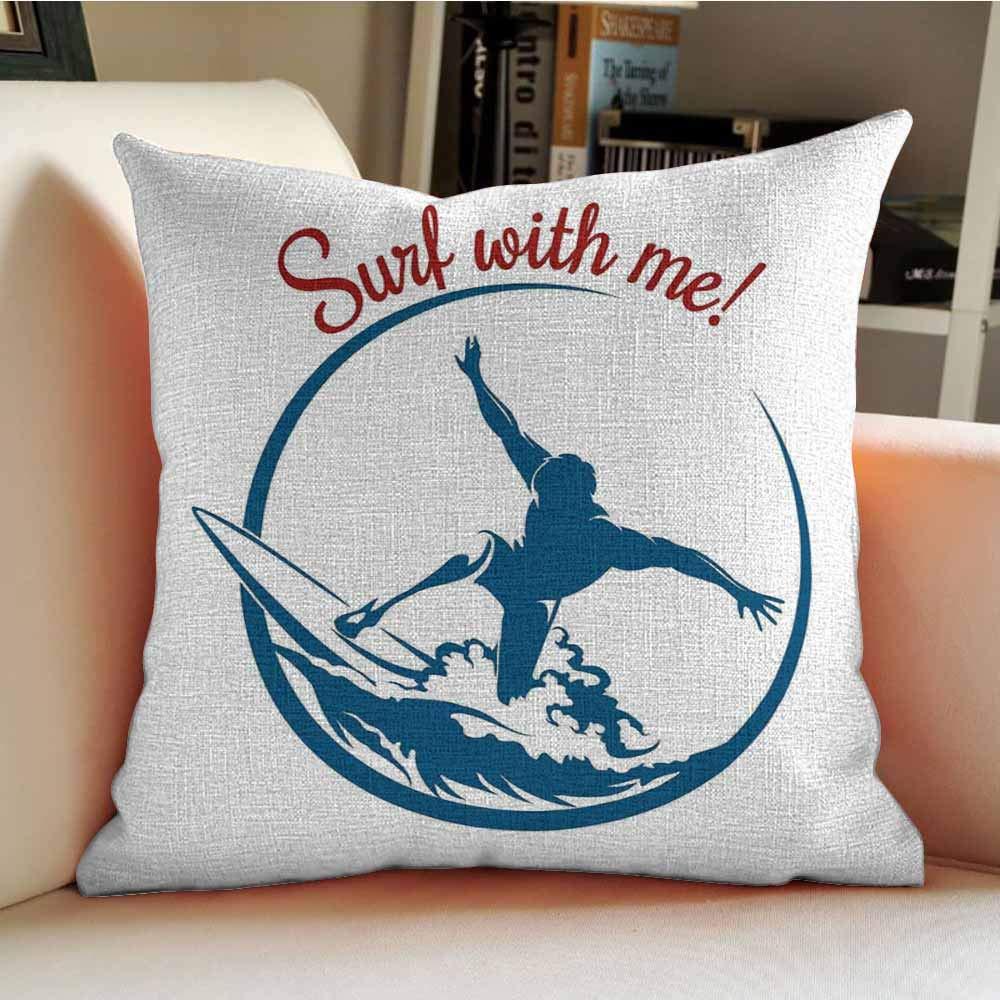 Amazon.com: Bonita funda de almohada, moderna, sin costuras ...