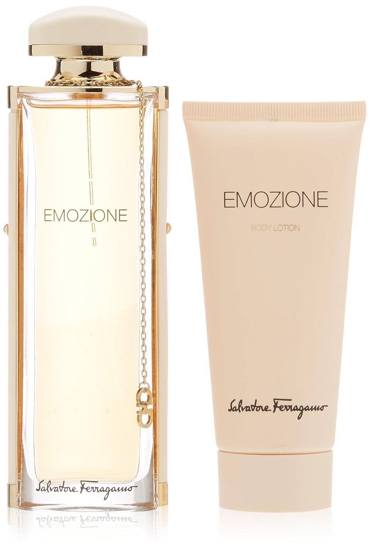 4edda9a3d8250 Amazon.com : Salvatore Ferragamo Emozione for Women 2 Piece Gift Set :  Beauty
