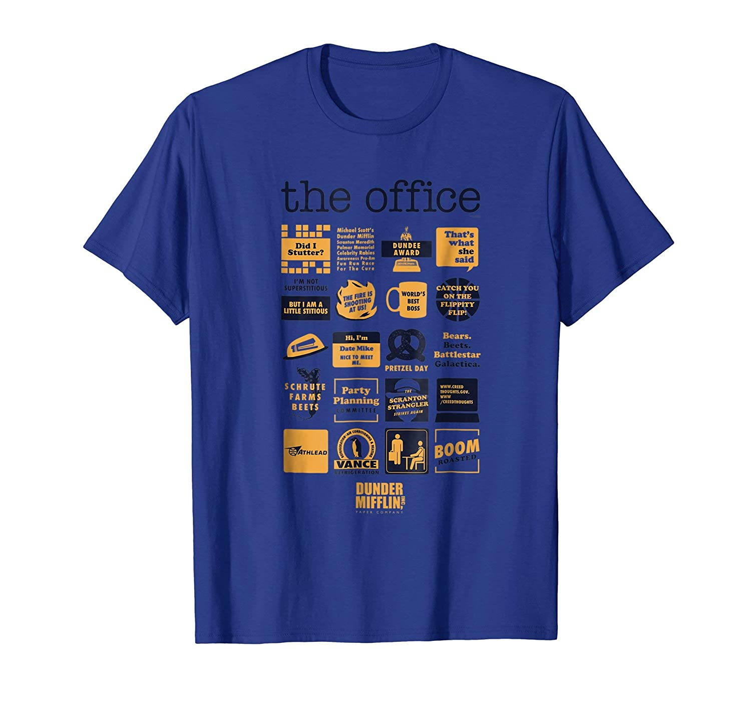 The Office Quote Mash-Up Funny T-Shirt - Official Tee NBC