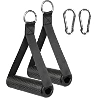RENRANRING Resistance Bands Handles with Screw Thread, Comfortable Ultra Heavy Duty Foam Grips with Solid ABS Cores…