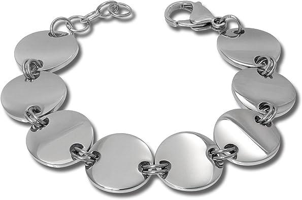 bijoux moderne acier femme