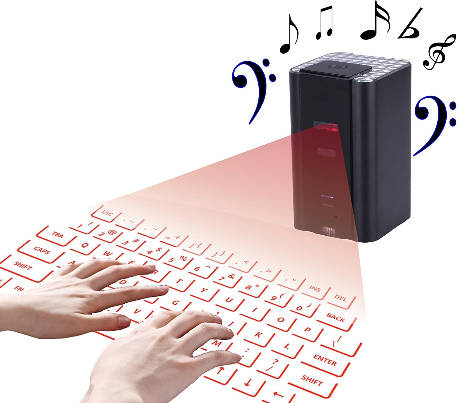 Keyboard Mouse Sets bluetooth laser keyboard for iphone for android from You And Me