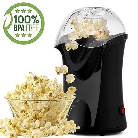 Bunao 1200W Máquina de Palomitas de maíz, Popcorn Machine ...