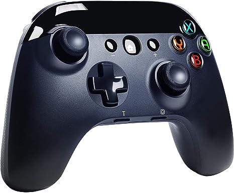 Funlab Mando Inalámbrico para Nintendo Switch, Wireless Bluetooth Pro Controller para Switch Lite, Controlador Remoto Joypad Gamepad con Turbo Ajustable, Motores Duales y Giroscopio de 6 Ejes: Amazon.es: Videojuegos