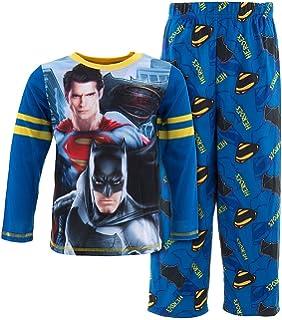 Amazon.com  DC Comics Little Boys  Batman Superman Heroes Pajamas S ... 8f73cdd57
