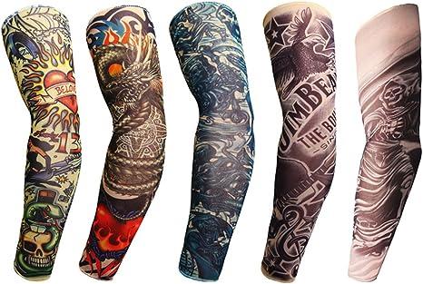grofitness Body Art Manguitos de Brazo de Tatuaje Viaje de ...