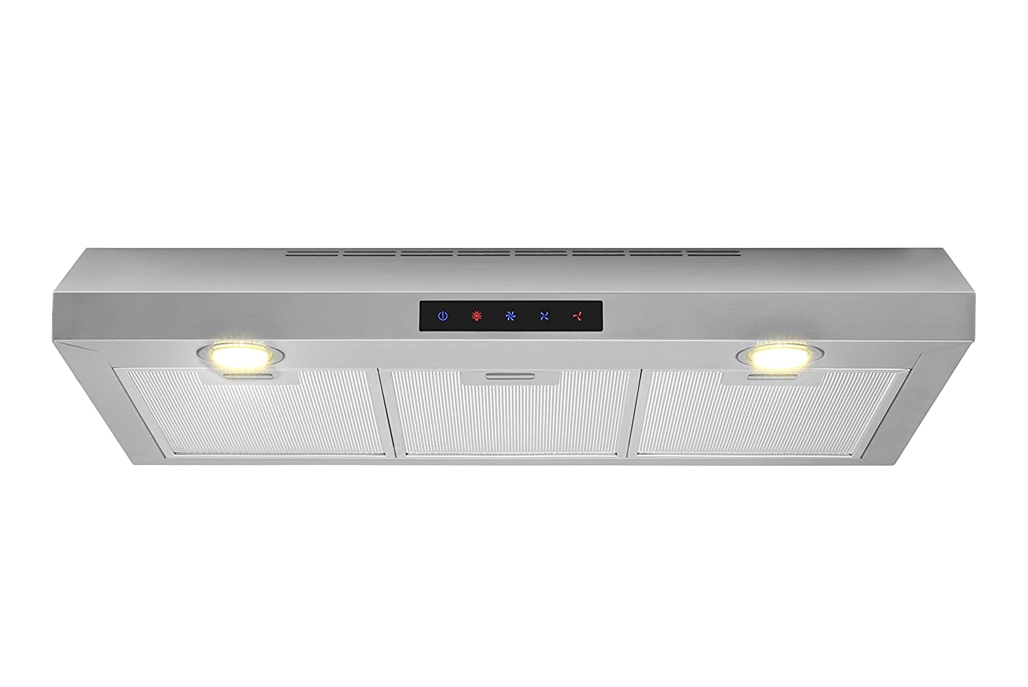 Kitchen Bath Collection WUC75-LED Stainless Steel Under-Cabinet Range Hood 30