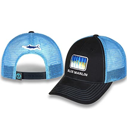 7eca600d790ce Amazon.com   Gills N Game Sport Fishing Mesh Back Fishing Hat (Blue ...