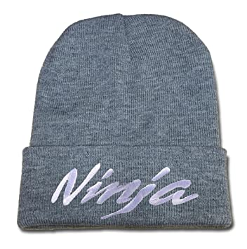 JXJ Kawasaki Ninja Beanie Embroidery Beanies Hats Skull Caps  Amazon.co.uk   Sports   Outdoors 1e3016c12e9d