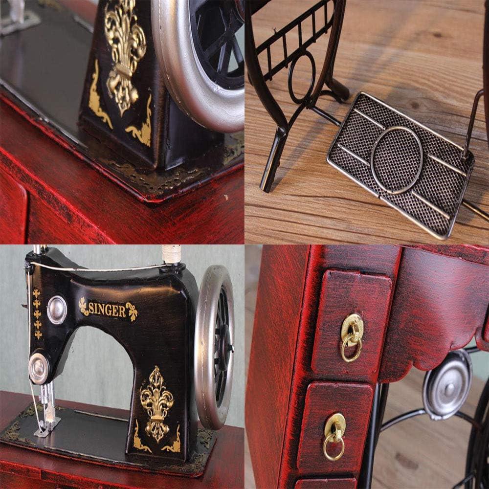 LIJUN Puro Hecho a Mano de Hierro Retro Modelo Antiguo máquina de ...