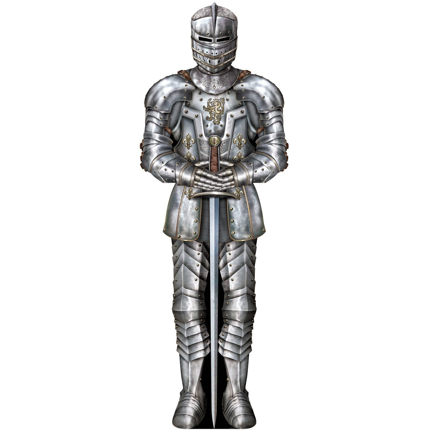 amazon com beistle 57466 jointed suit of armor 6 feet kitchen