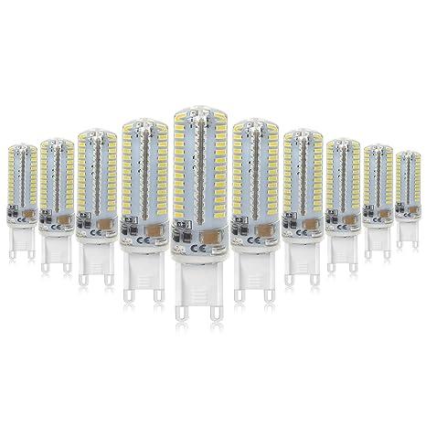 Mininono G9 Bombilla LED G9 7W llevó la lámpara LED de las bombillas 4000K Blanco Neutro