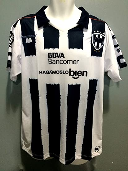 Club Monterrey Replica jersey 2016-2017 manga corta seleccion mexicana (Youth Large)
