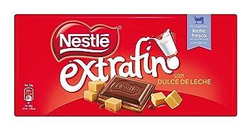 NESTLÉ EXTRAFINO Dulce de Leche - Tableta de Chocolate 120g